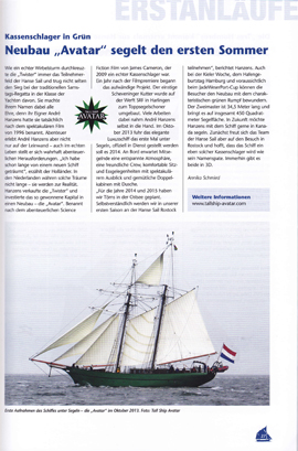 Hanse Sail Magazin | Jan. 2014